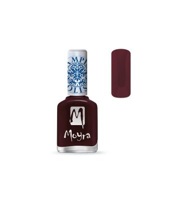 moyra lakier do stempli 03 burgundy red 12 ml