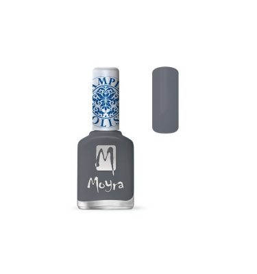 moyra lakier do stempli 23 grey 12 ml