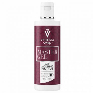 victoria vynn master gel liquid plyn do modelowania masy akryl zel 200 ml